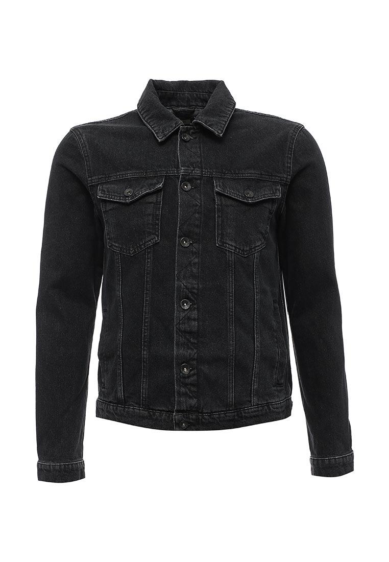 Джинсовая куртка Topman (Топмэн) 64P19PBLK