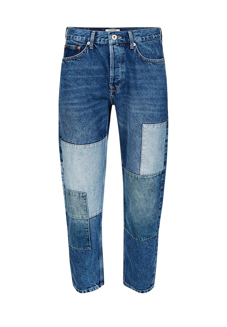 Зауженные джинсы Topman (Топмэн) 69J32ODST
