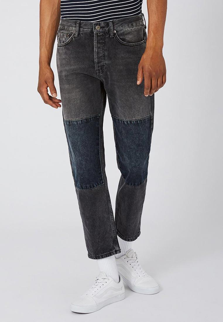 Мужские прямые джинсы Topman (Топмэн) 69J33OWBL