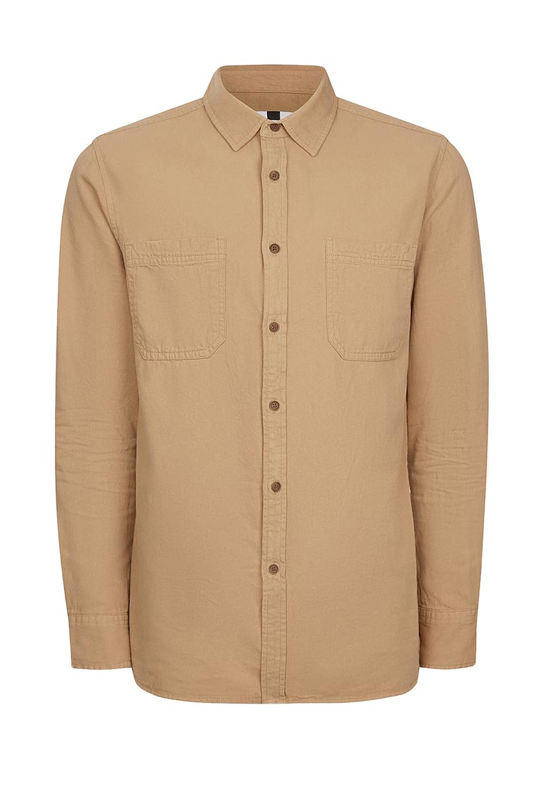 Рубашка с длинным рукавом Topman (Топмэн) 83B56NSTN