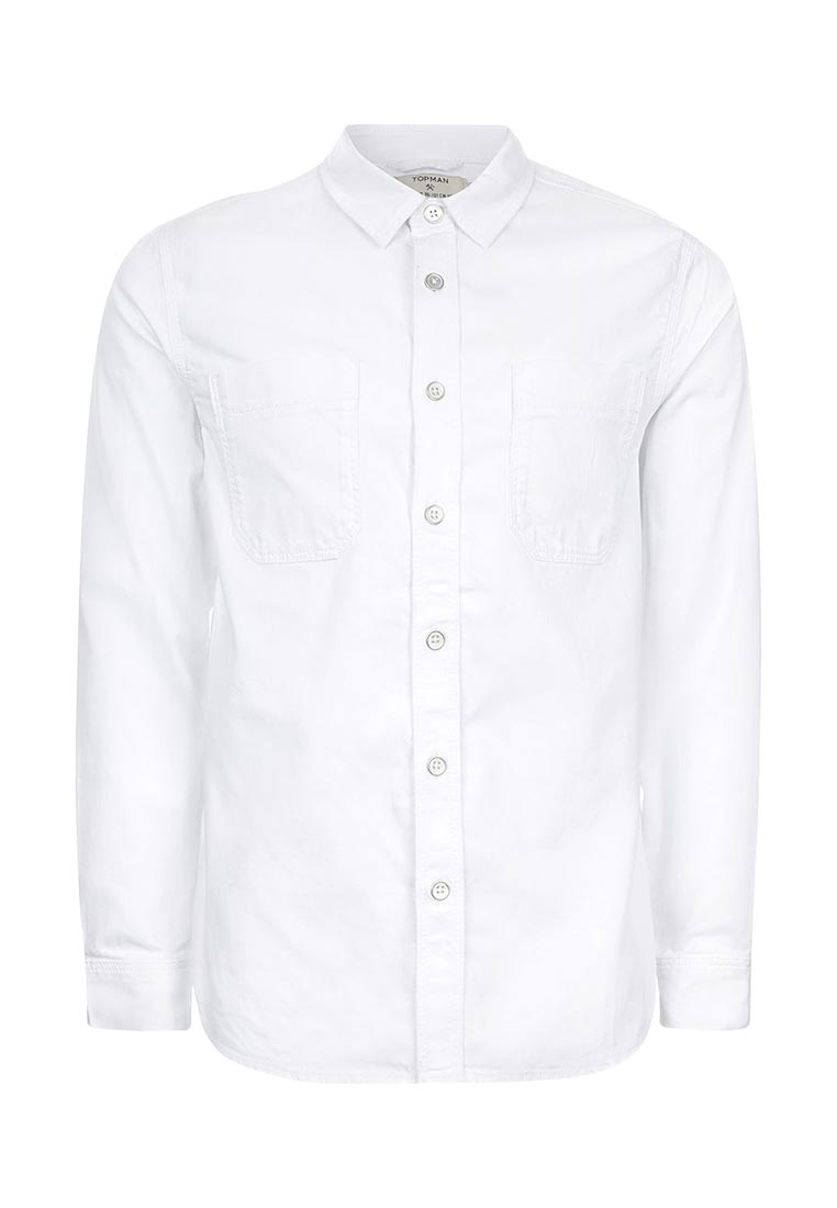 Рубашка с длинным рукавом Topman (Топмэн) 83E01OWHT