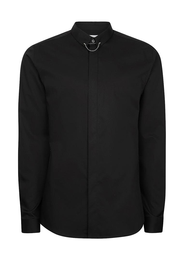 Рубашка с длинным рукавом Topman (Топмэн) 84P09NBLK