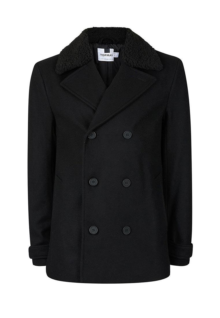 Мужские пальто Topman (Топмэн) 64D11ABLK