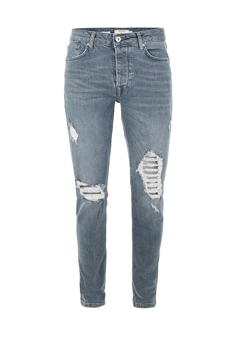 Зауженные джинсы Topman (Топмэн) 69B30OGRY