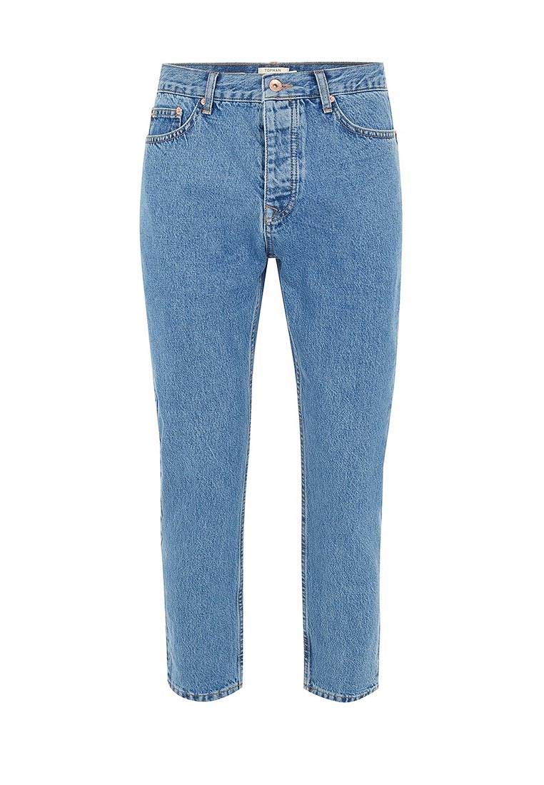 Зауженные джинсы Topman (Топмэн) 69J37OMST