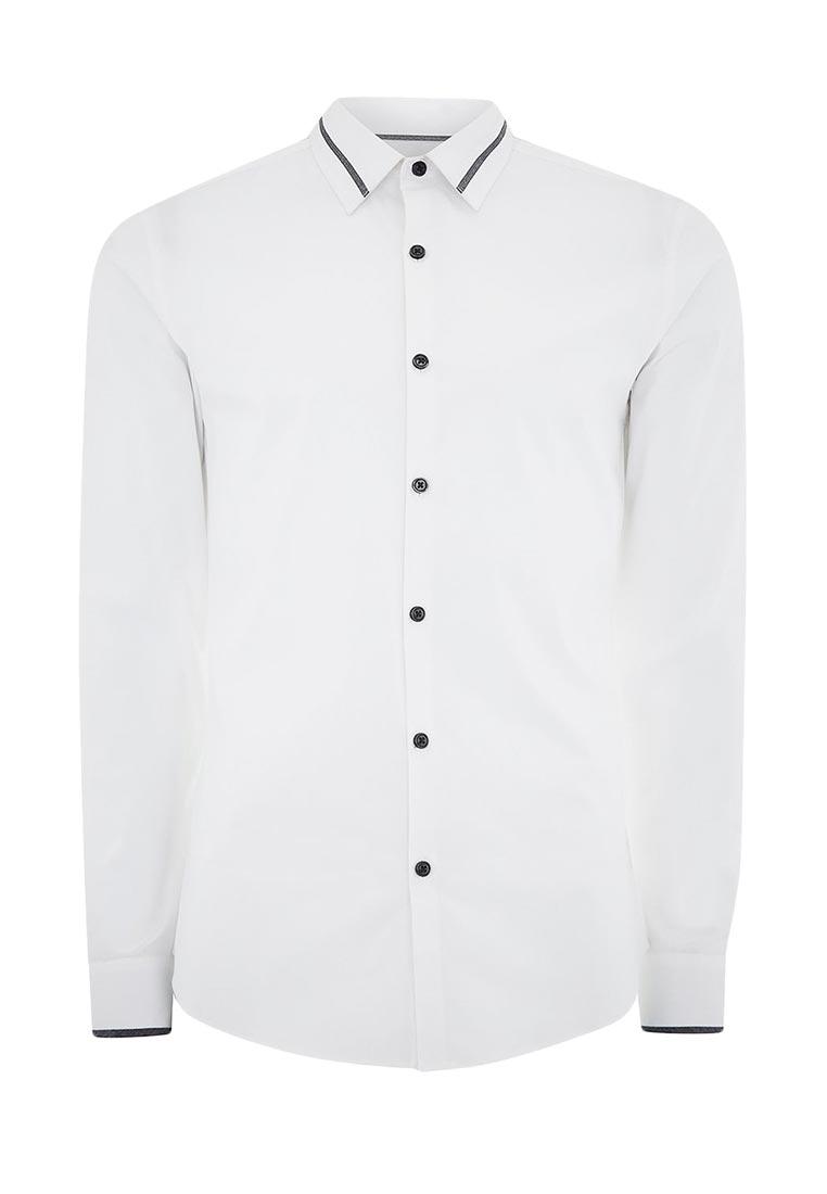 Рубашка с длинным рукавом Topman (Топмэн) 84A02OWHT