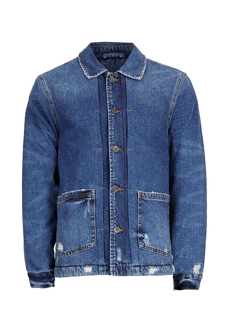 Джинсовая куртка Topman (Топмэн) 64P03PBLE