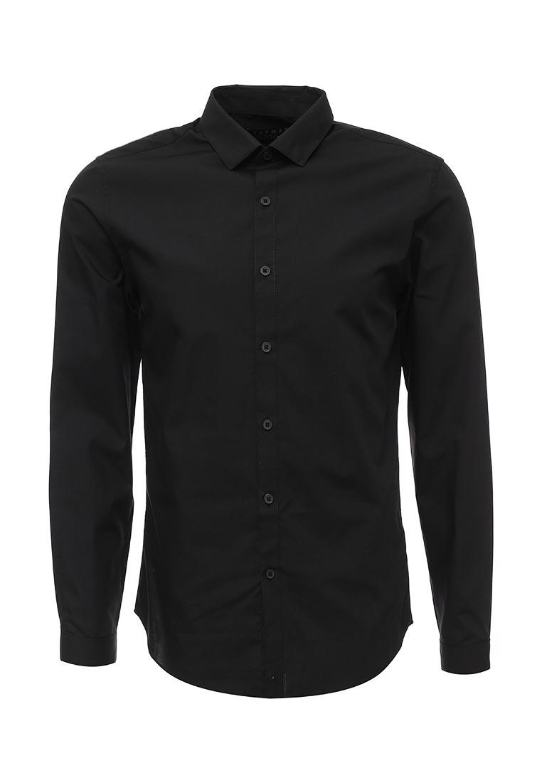 Рубашка с длинным рукавом Topman (Топмэн) 84L02JBLK