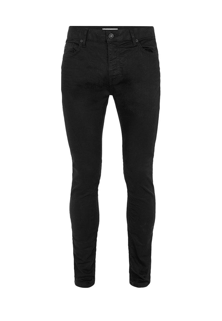 Зауженные джинсы Topman (Топмэн) 69B40OBLK