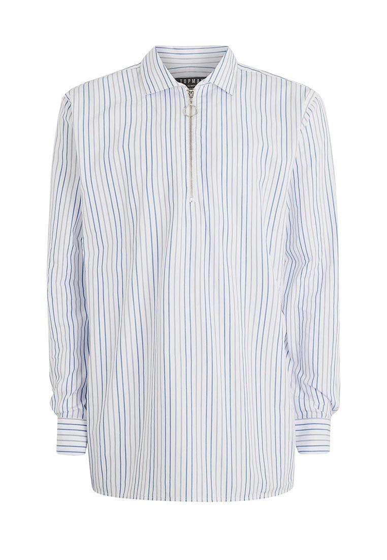 Рубашка с длинным рукавом Topman (Топмэн) 84C04OWHT