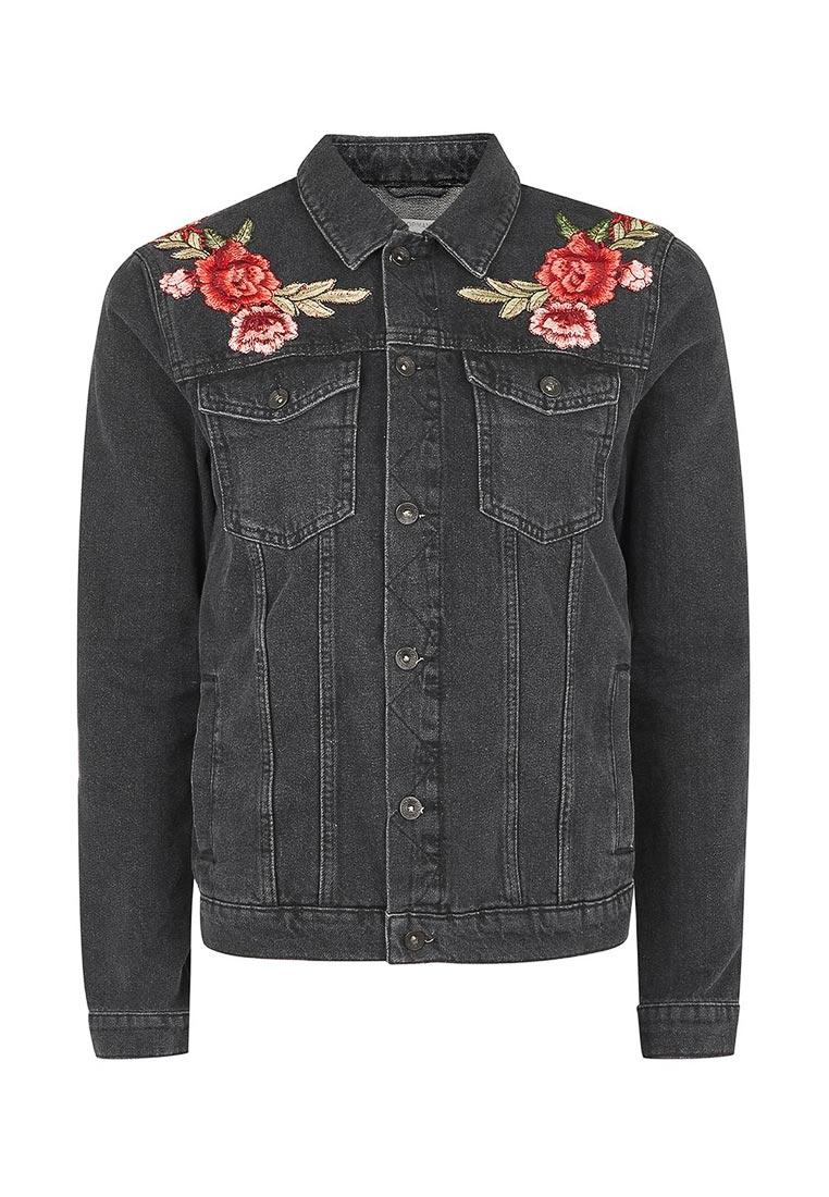 Джинсовая куртка Topman (Топмэн) 64P32PBLK