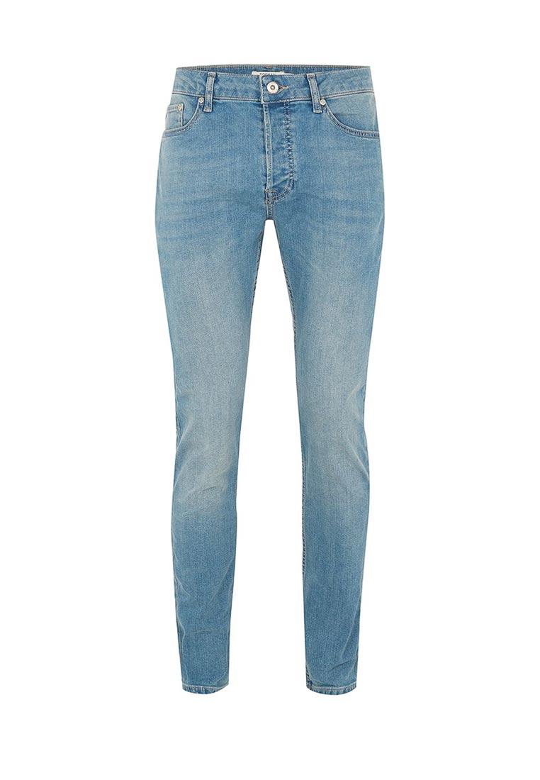 Зауженные джинсы Topman (Топмэн) 69F13OLST