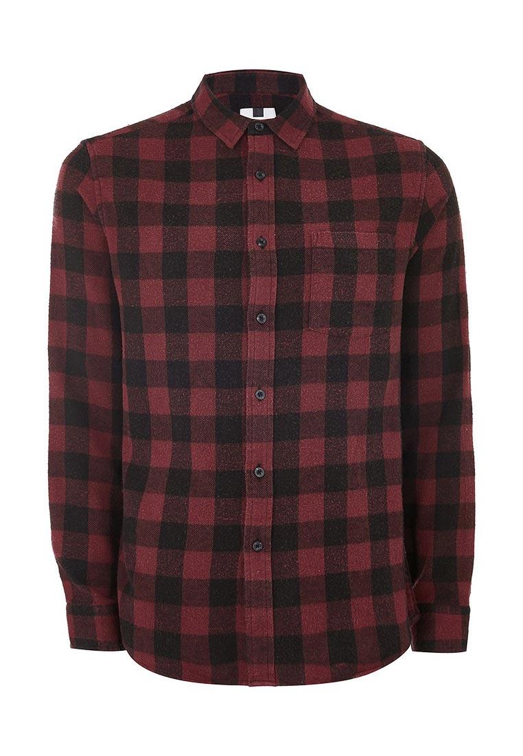 Рубашка с длинным рукавом Topman (Топмэн) 83C17ORED