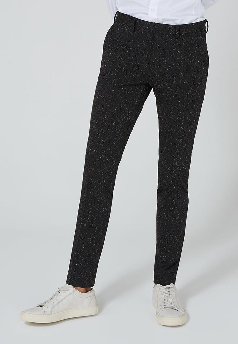 Мужские зауженные брюки Topman (Топмэн) 88D28PBLK