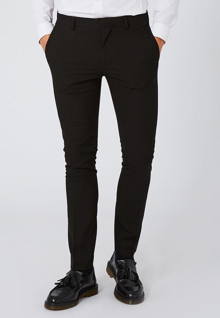 Мужские зауженные брюки Topman (Топмэн) 87T41OBLK