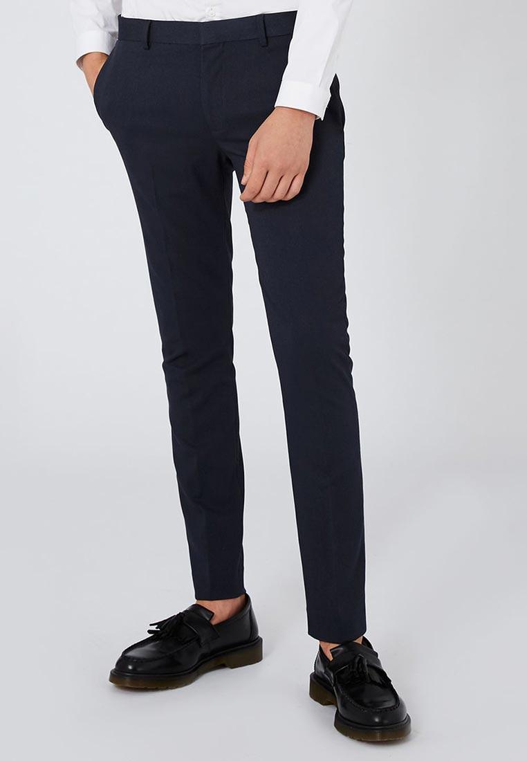 Мужские зауженные брюки Topman (Топмэн) 87T74ONAV
