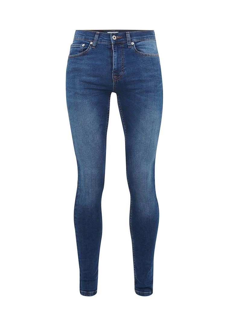 Зауженные джинсы Topman (Топмэн) 69D02PMST