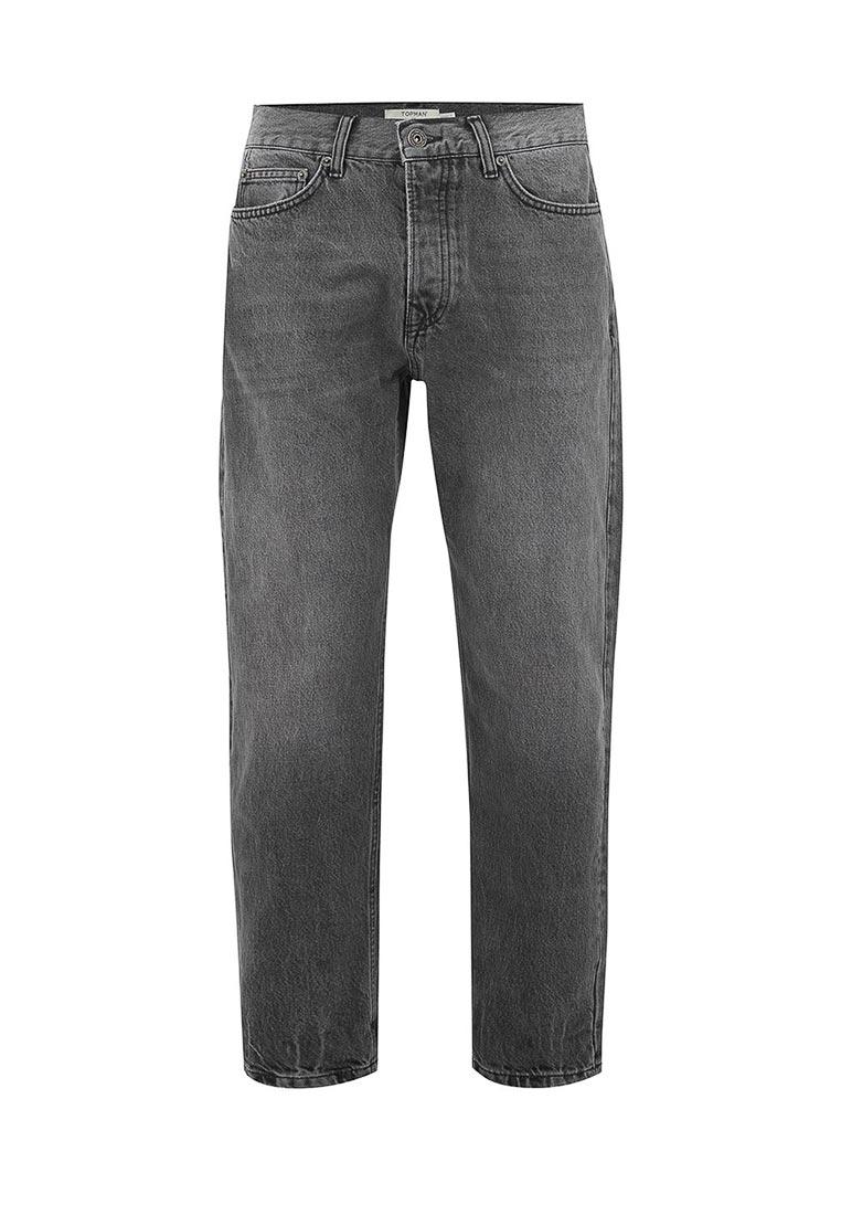 Мужские прямые джинсы Topman (Топмэн) 69J41OWBL