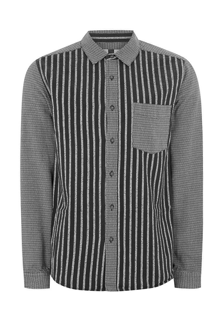 Рубашка с длинным рукавом Topman (Топмэн) 83U15NBLK