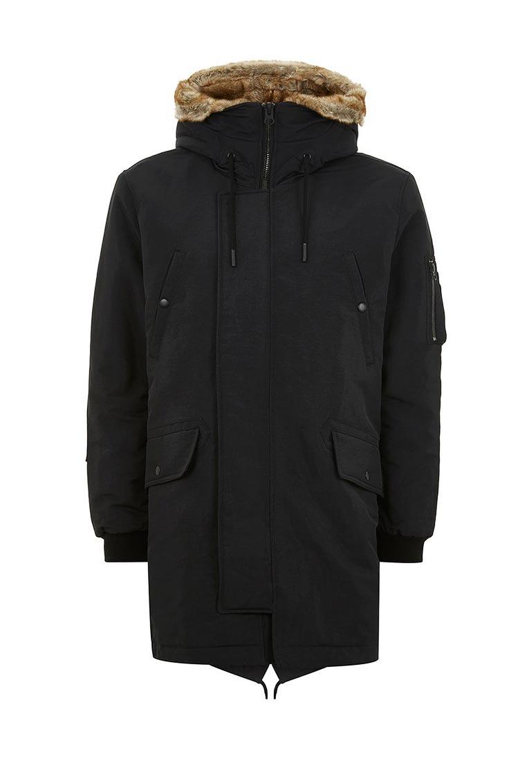 Утепленная куртка Topman (Топмэн) 64I04PBLK