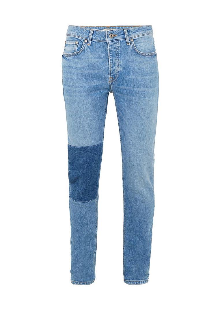 Мужские прямые джинсы Topman (Топмэн) 69B29OLST