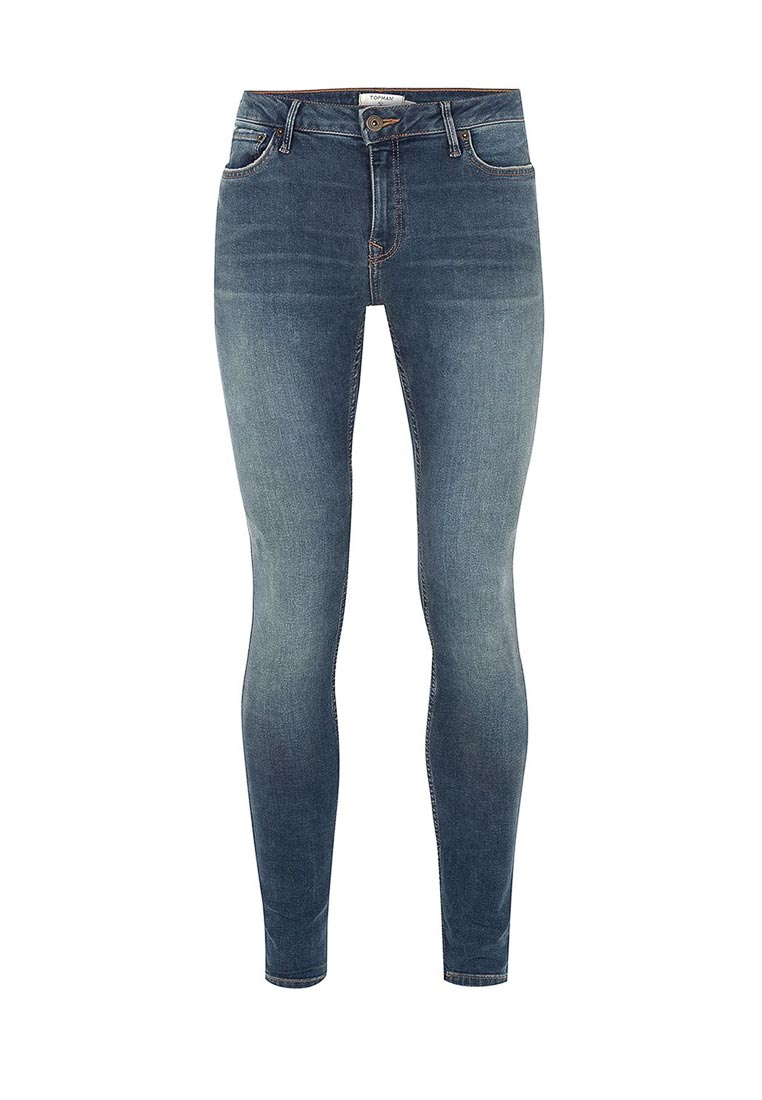 Зауженные джинсы Topman (Топмэн) 69D17OLST