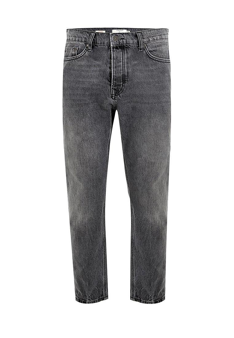 Мужские прямые джинсы Topman (Топмэн) 69J40OWBL