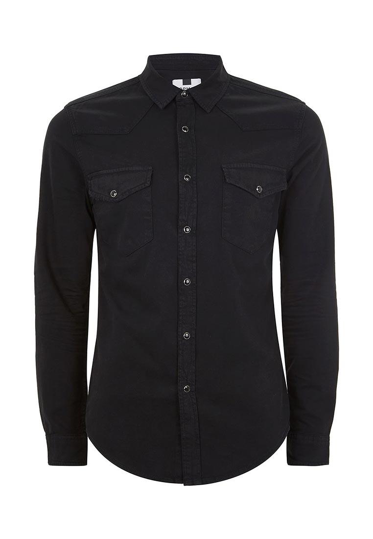 Рубашка с длинным рукавом Topman (Топмэн) 83B08OBLK