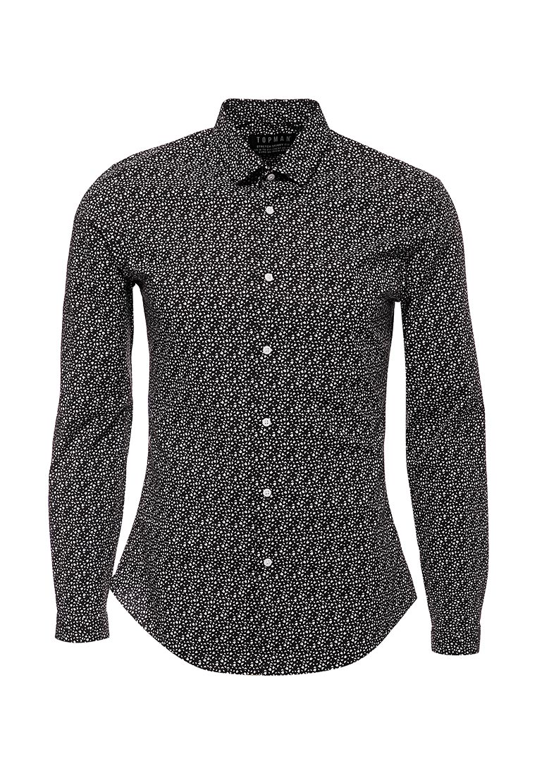 Рубашка с длинным рукавом Topman (Топмэн) 84C02NWHT
