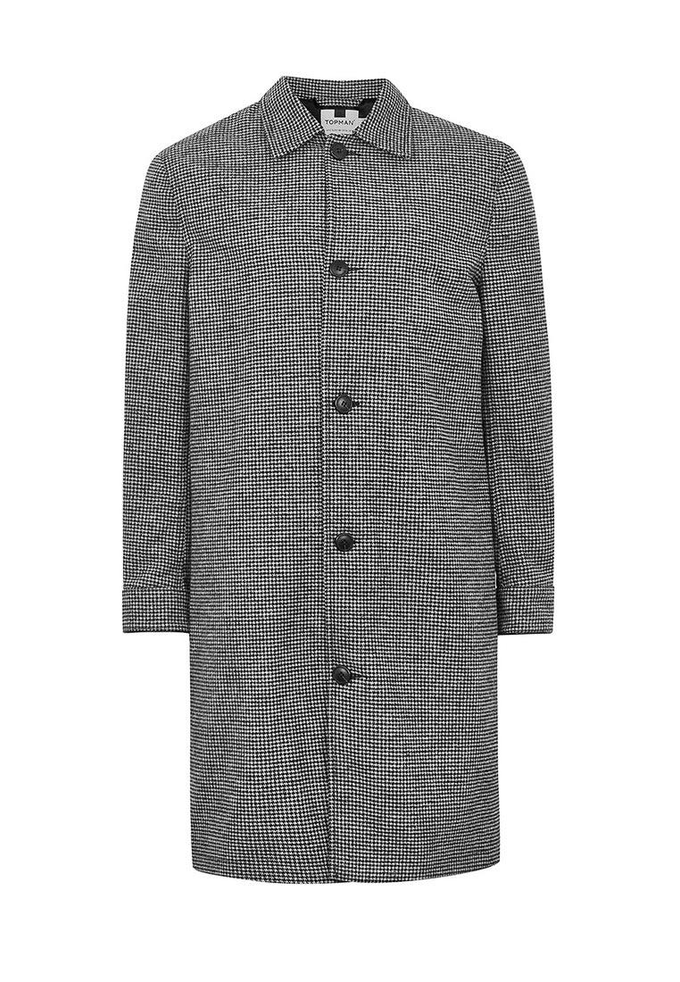 Мужские пальто Topman (Топмэн) 64D16PBLK