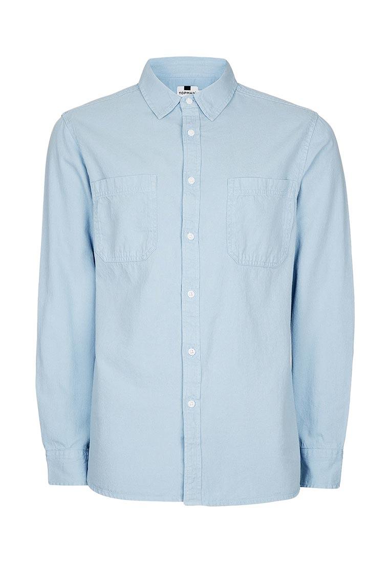 Рубашка с длинным рукавом Topman (Топмэн) 83B57NBLE