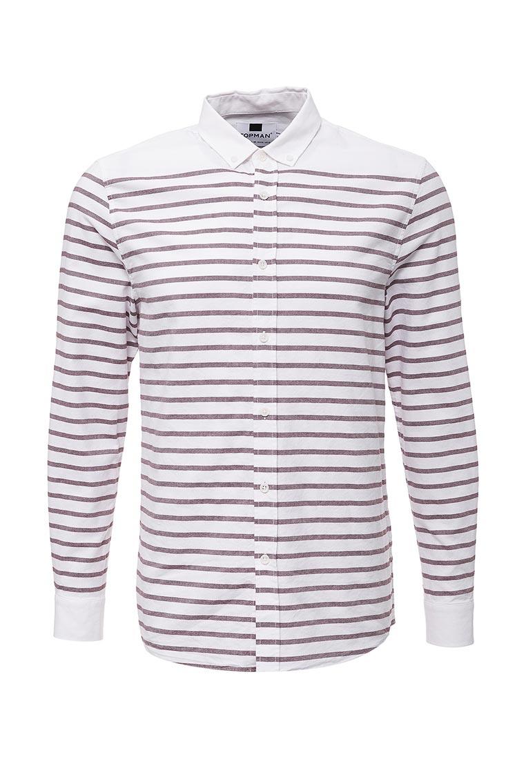Рубашка с длинным рукавом Topman (Топмэн) 83U08OBRG