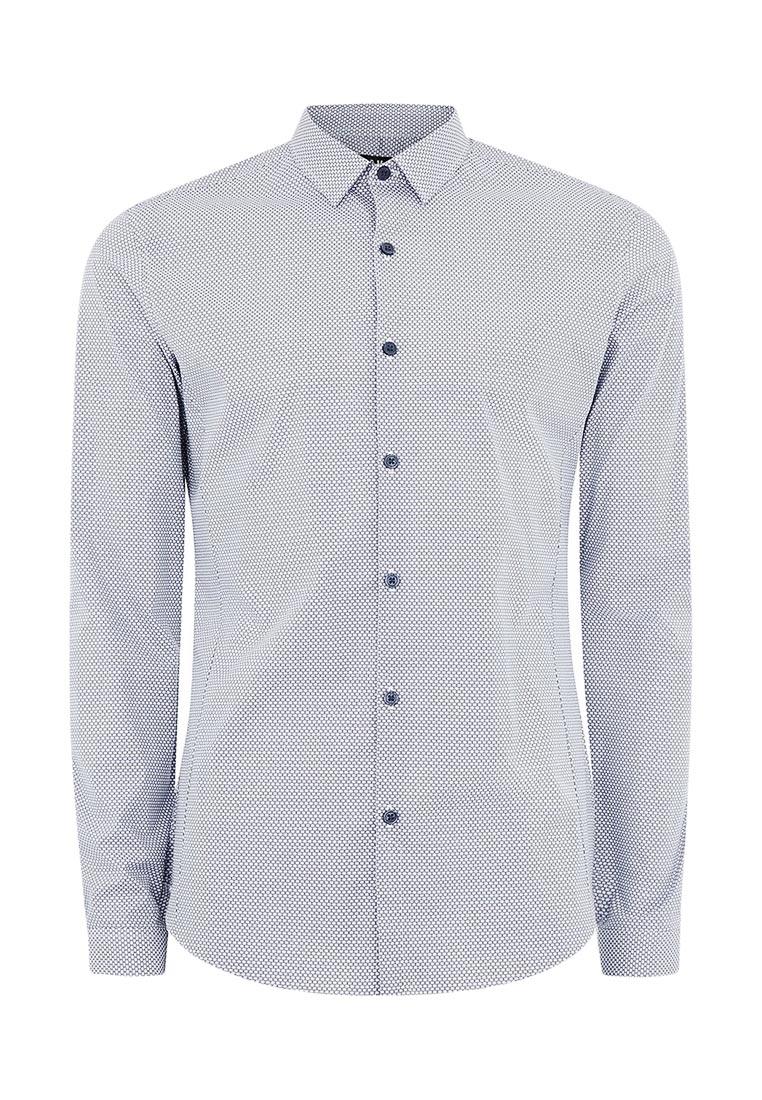 Рубашка с длинным рукавом Topman (Топмэн) 84C13MWHT