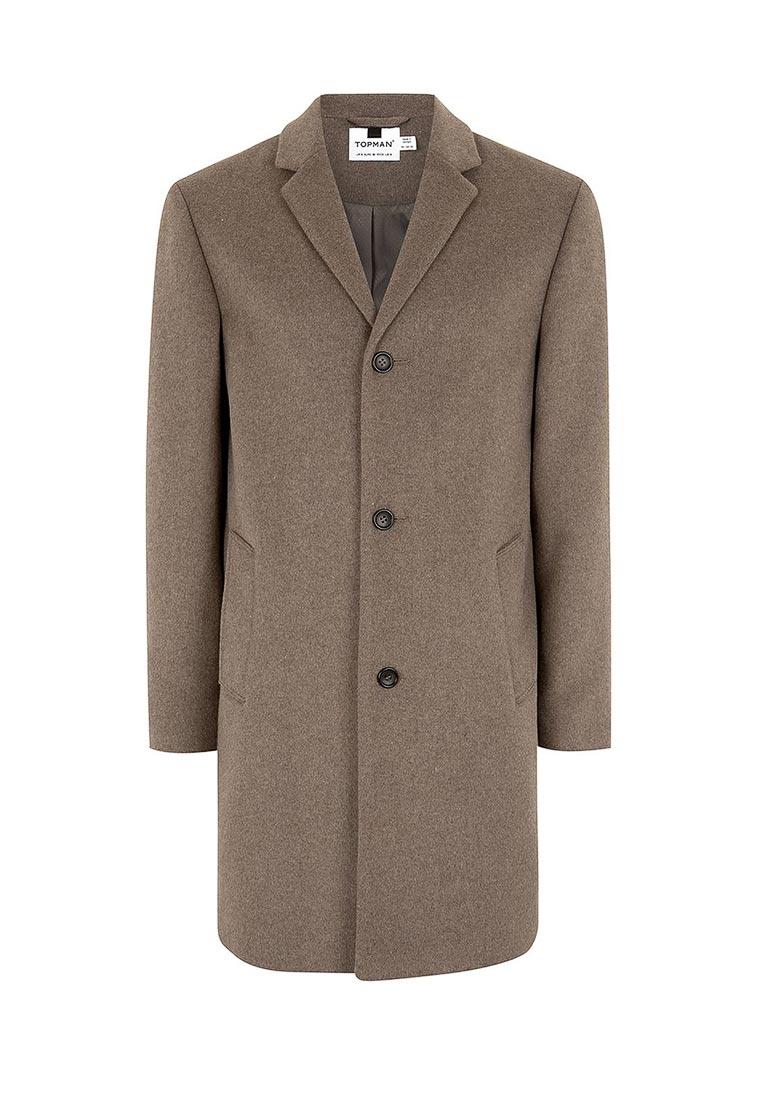Мужские пальто Topman (Топмэн) 64D05PBRN