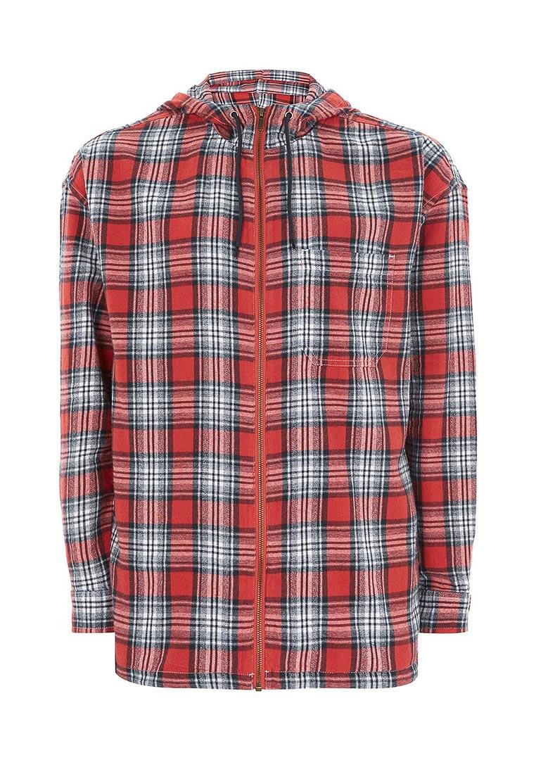 Рубашка с длинным рукавом Topman (Топмэн) 83C01ORED