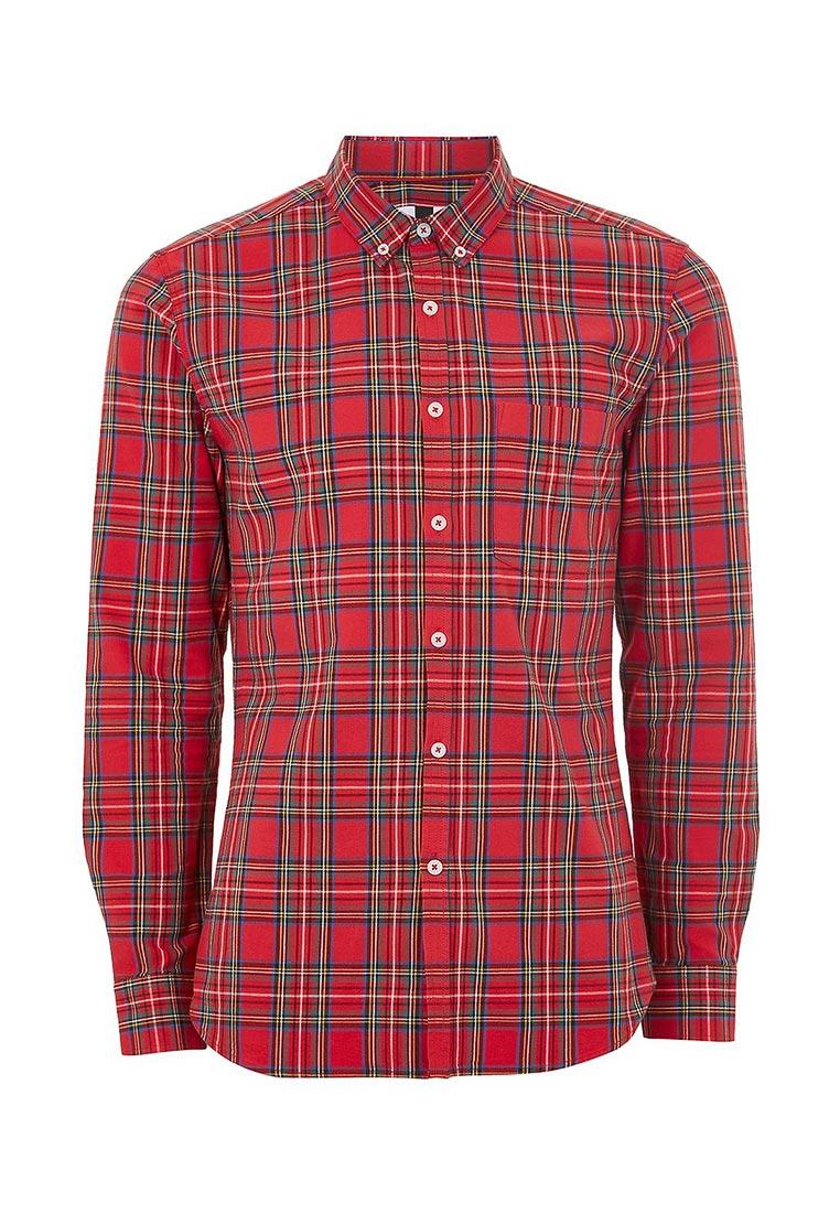 Рубашка с длинным рукавом Topman (Топмэн) 83C20ORED