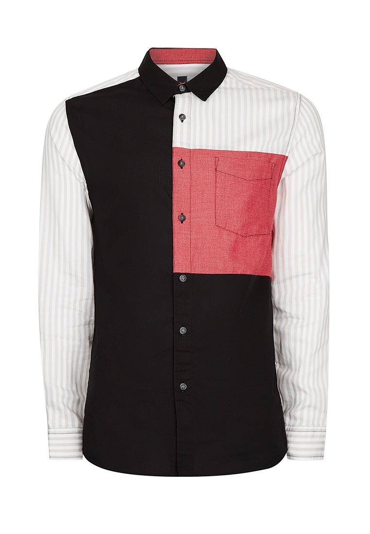 Рубашка с длинным рукавом Topman (Топмэн) 83U16NMUL