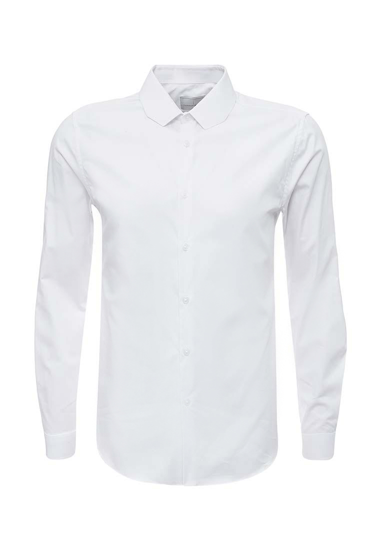 Рубашка с длинным рукавом Topman (Топмэн) 84P01OWHT