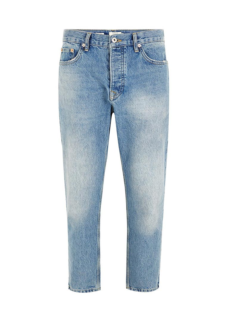 Зауженные джинсы Topman (Топмэн) 69J42OMST