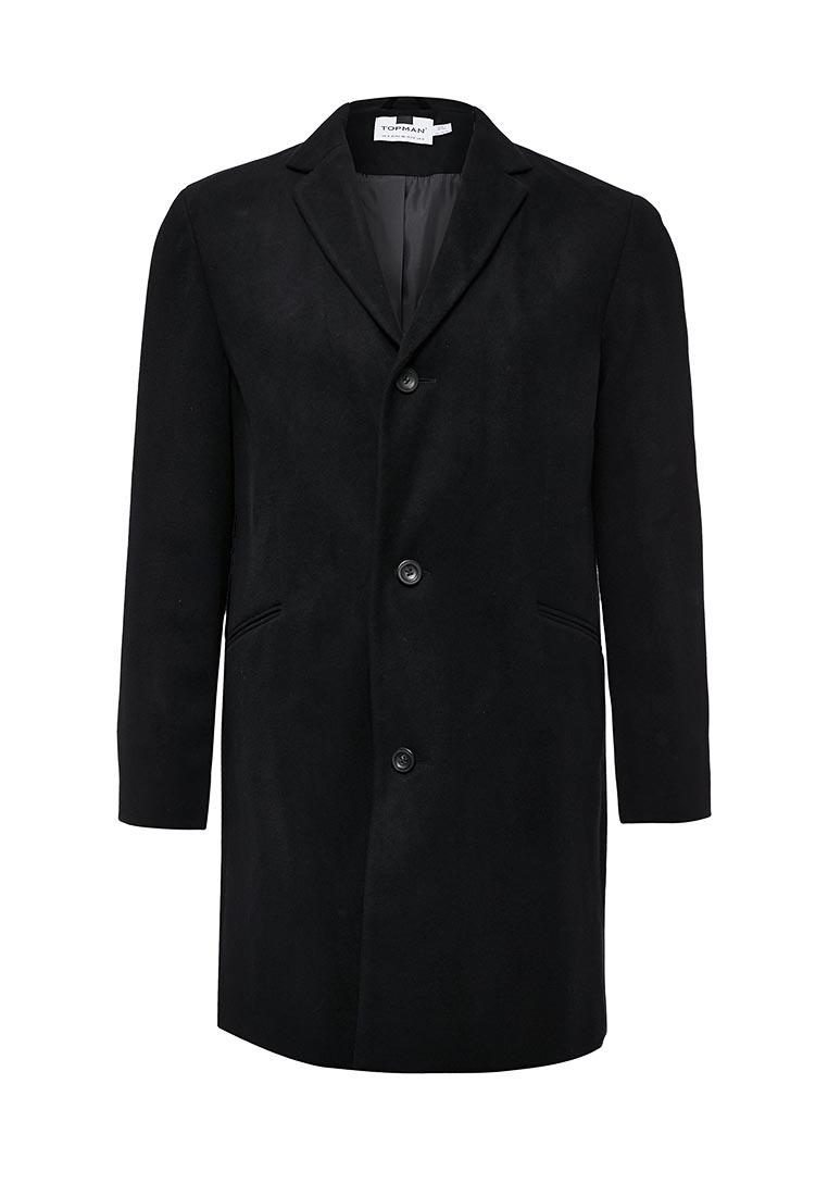 Мужские пальто Topman (Топмэн) 64D08PBLK