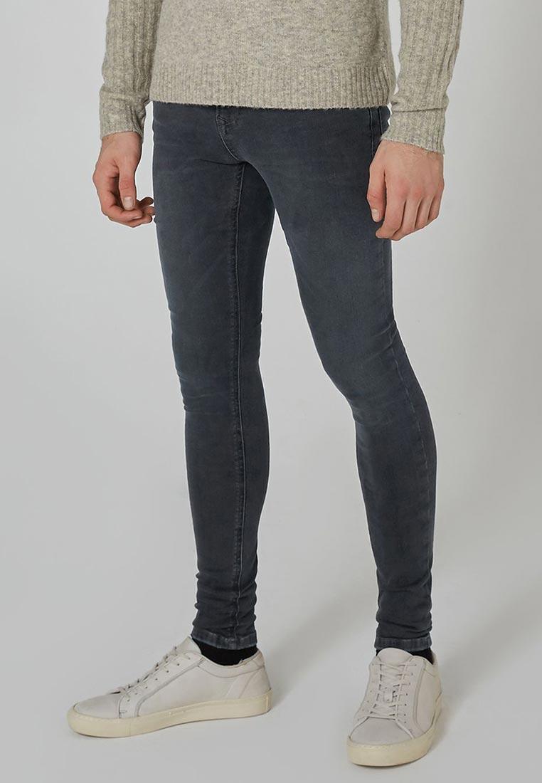 Зауженные джинсы Topman (Топмэн) 69D12PWBL