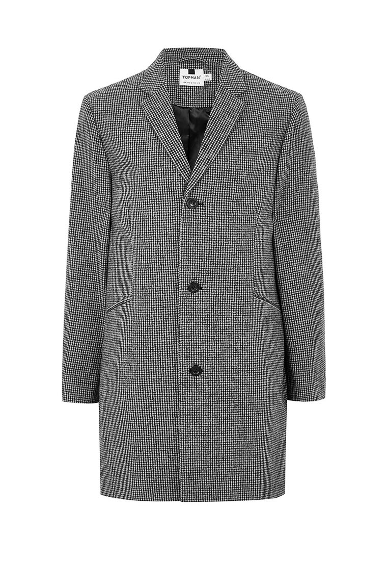 Мужские пальто Topman (Топмэн) 64D20PBLK