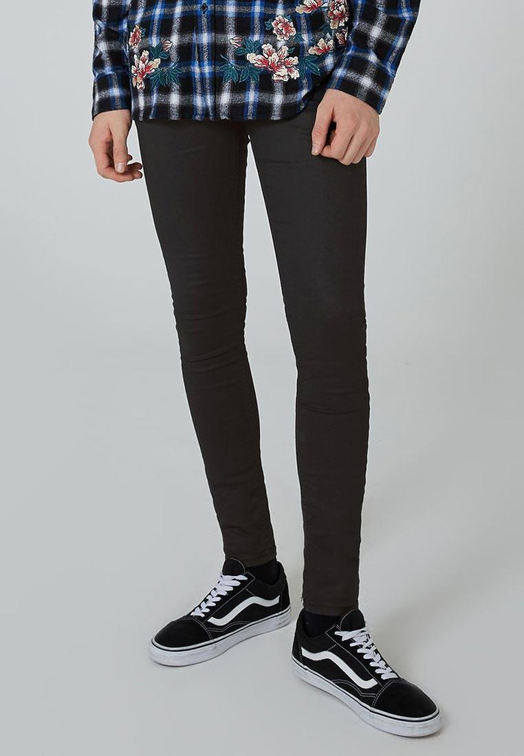 Зауженные джинсы Topman (Топмэн) 69D04PBLK