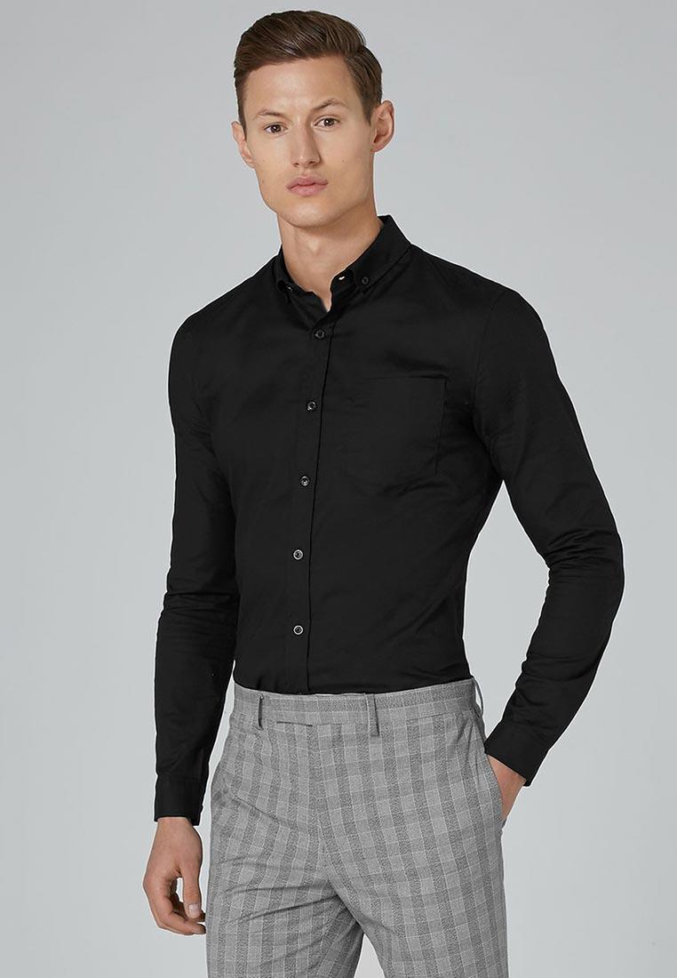 Рубашка с длинным рукавом Topman (Топмэн) 83B38OBLK