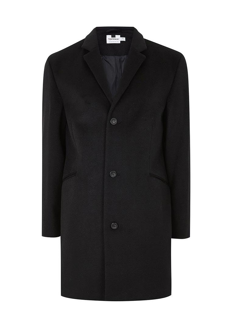 Мужские пальто Topman (Топмэн) 64D21PBLK