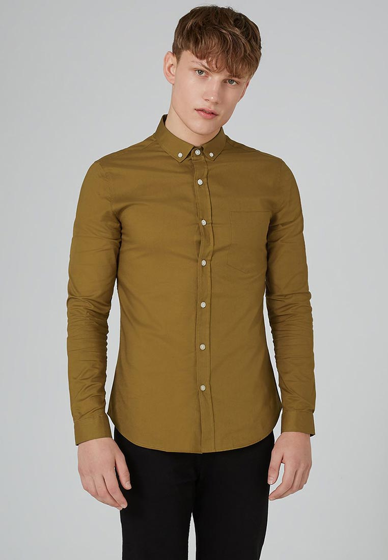 Рубашка с длинным рукавом Topman (Топмэн) 83B39OBRN