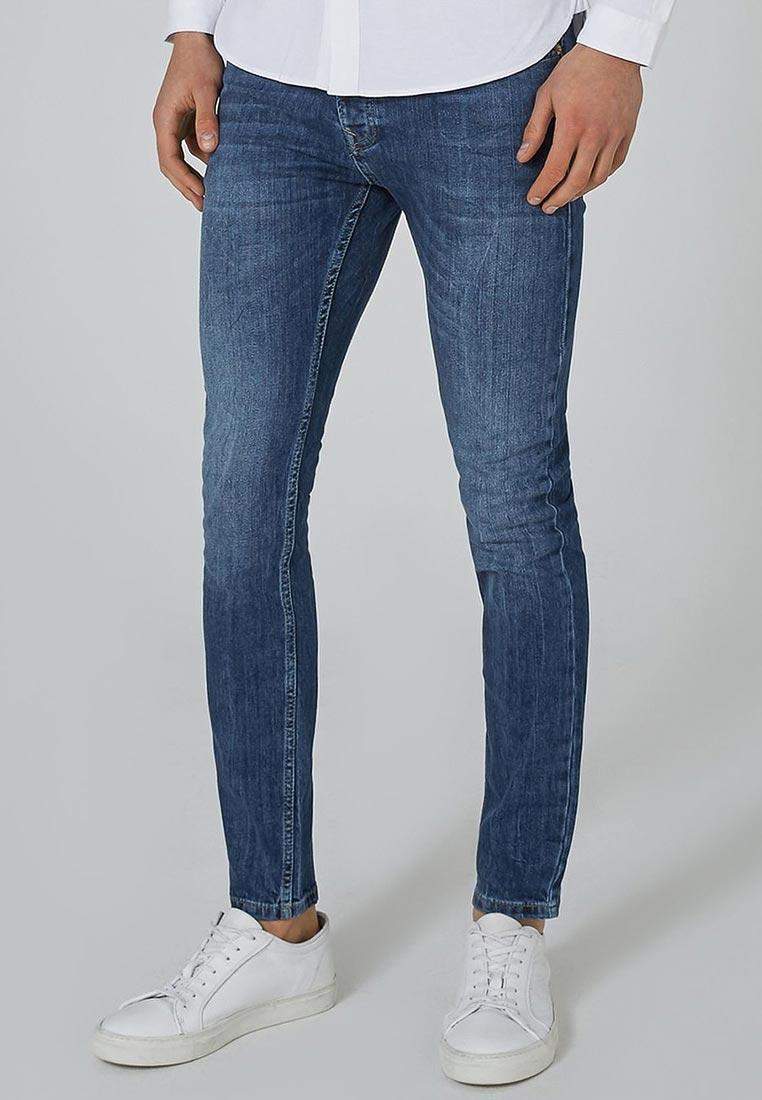Зауженные джинсы Topman (Топмэн) 69B18PDST