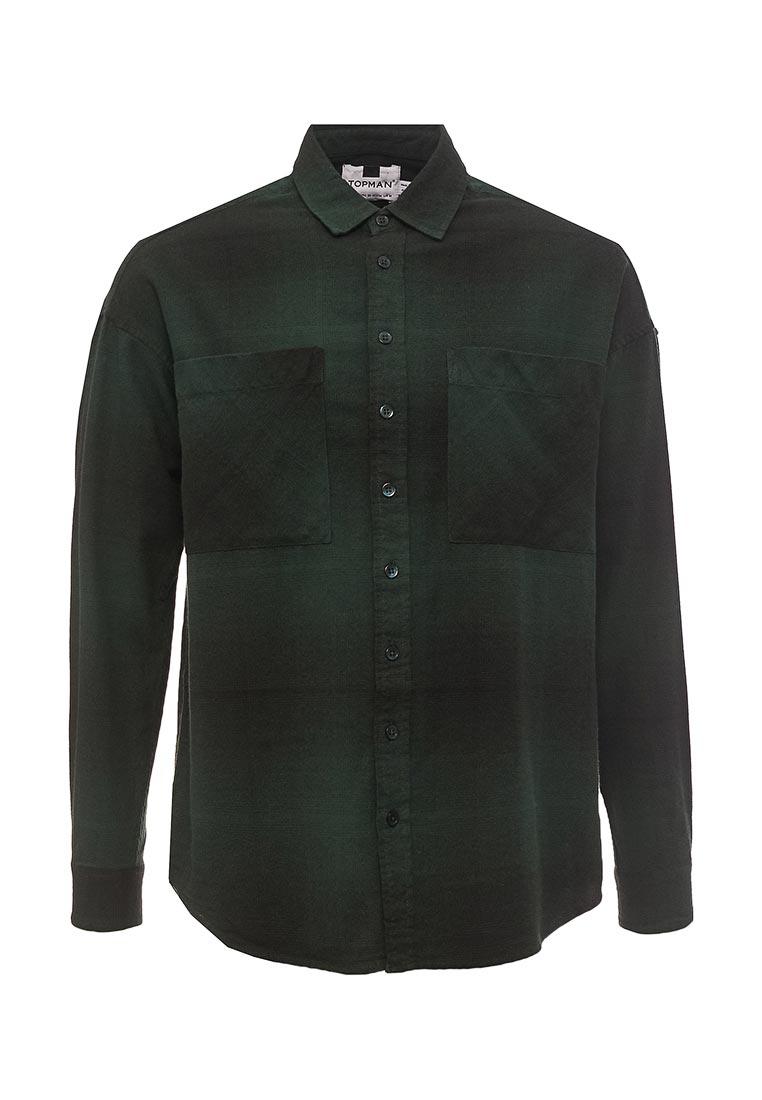 Рубашка с длинным рукавом Topman (Топмэн) 83C19NGRN