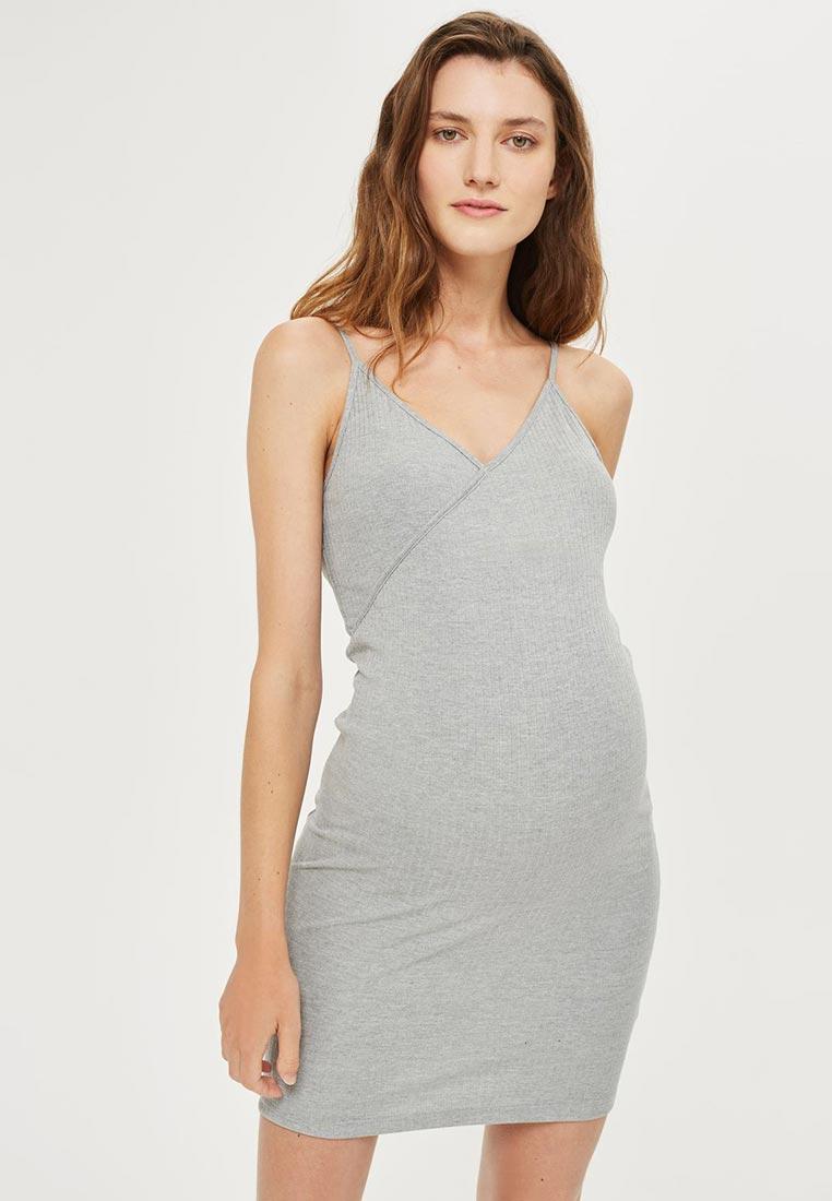 Летнее платье Topshop Maternity 44D92LGRY