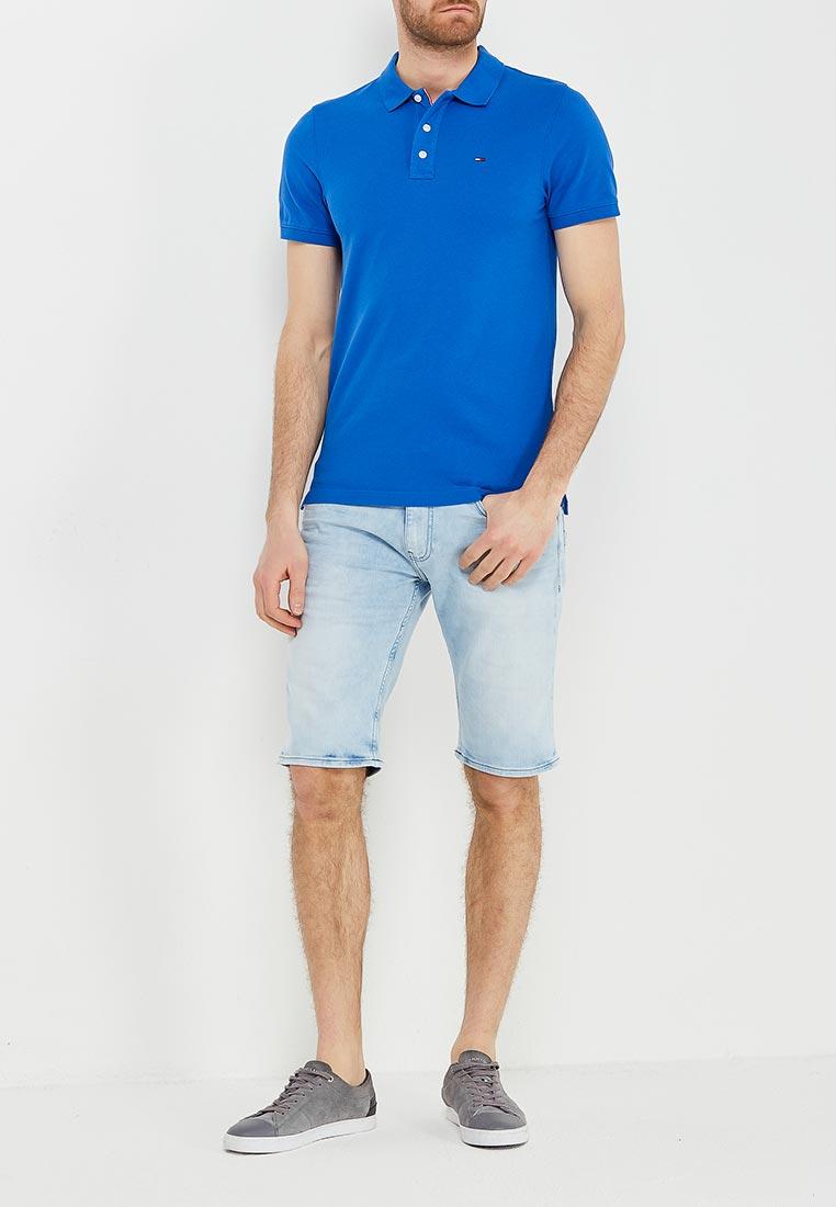 Мужские поло Tommy Jeans DM0DM00488: изображение 2